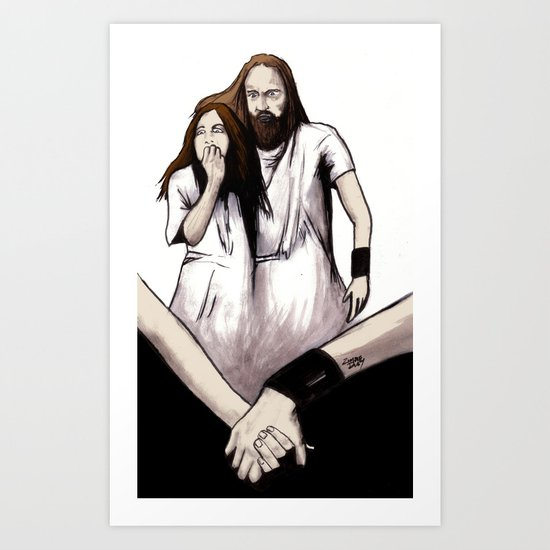Until The End Of The World Art Print