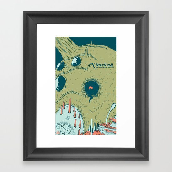 Nausicaä of the Valley of the Wind Framed Art Print