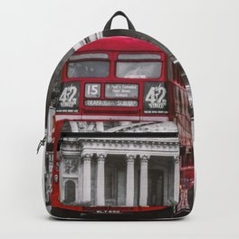 London Classic Bus Backpack