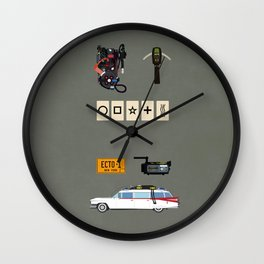 Ghostbusters v.2 Wall Clock