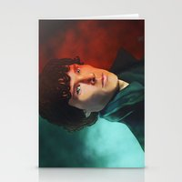 sherlock holmes Stationery Cards featuring Sherlock Holmes by DocLew