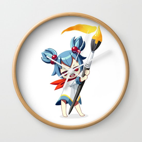 Painter Wall Clock