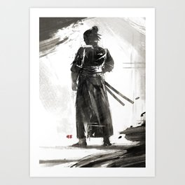 The Way of the Sword Art Print