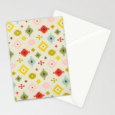 Mod Tribal Pattern Stationery Cards