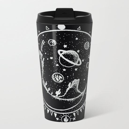 DESERT MOON SHELTER Metal Travel Mug
