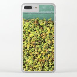 Creeping Ficus Clear iPhone Case