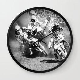 Dusty Race Wall Clock