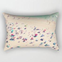 beach summer in love Rectangular Pillow