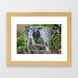 Fountain Framed Art Print
