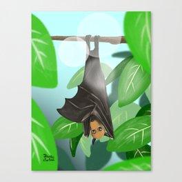 Pteropus Canvas Print