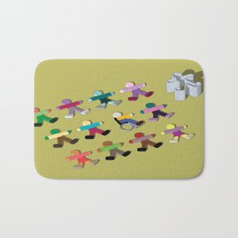 Break the mold (handicap) Bath Mat