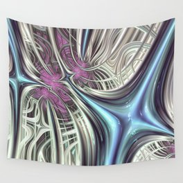 Cosmic Orchid - Fractal Art Wall Tapestry