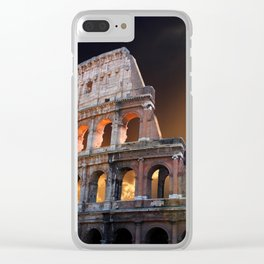 The Coliseum of Ancient Rome Clear iPhone Case
