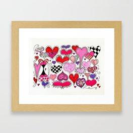 Bless Your Heart Framed Art Print