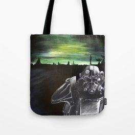 Fallout Brotherhood Landscape Tote Bag