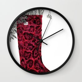 Seattle Boot Wall Clock
