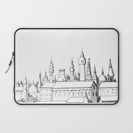 fabulous city . art . black and white Laptop Sleeve