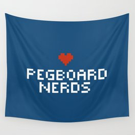 Pegboard Nerds Pixel Wall Tapestry