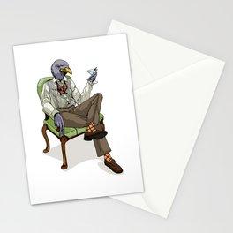 Bird Martini Stationery Cards