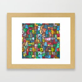 Urban Civilization Framed Art Print