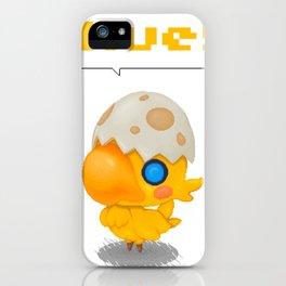 Chocobo iPhone Case