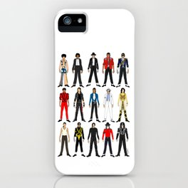 Outfits of King MJ Pop Music iPhone Case