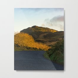 Road to Slievenaglogh in Cooley Mountains, Louth Ireland Metal Print