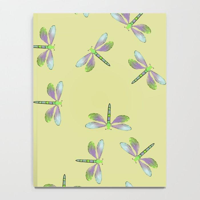 Dragonfly Frenzy Notebook