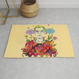 Timothy Leary Rug