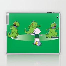 Jurassic Baby Laptop & iPad Skin
