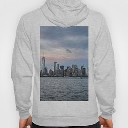 Skyline  of New York City at sunset Hoody