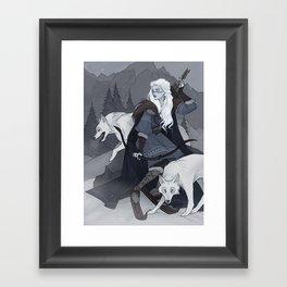 Skadi Framed Art Print
