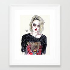 SKY FERREIRA NO,17 Framed Art Print