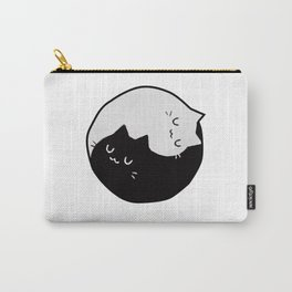 Yin Yang Kittens Carry-All Pouch