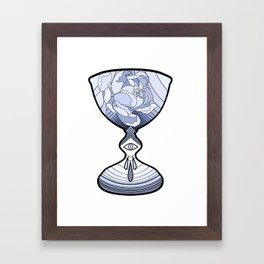 The Ace of Cups Framed Art Print