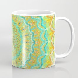 Citrus Burst - Mandala Art Coffee Mug