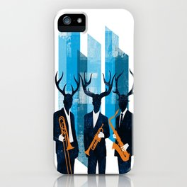 Horn Section iPhone Case