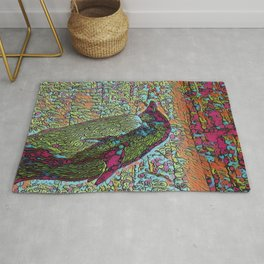 Abstract Penguin Rug
