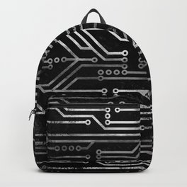 Circuit, tech electronics Backpack