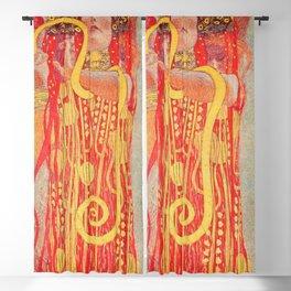 Gustav Klimt - Greek Goddess of Medicine Hygeia Blackout Curtain