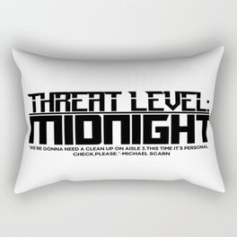 The Office - Midnight Level (TLM) Rectangular Pillow