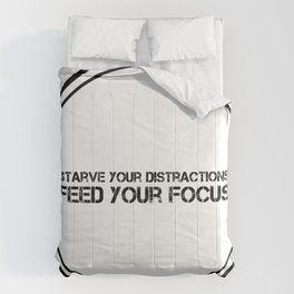 Feed Your Focus Comforters