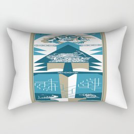A Viking History No. 2 Rectangular Pillow