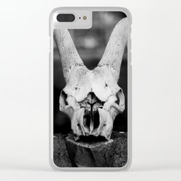 Goat's Grave Clear iPhone Case