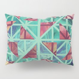 Geometric Shapes: Triangles 02 Pillow Sham