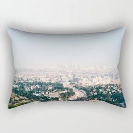 Pink LA Rectangular Pillow