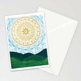 Mandala Sunrise Stationery Cards