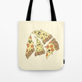 Ghost Pizzas Tote Bag