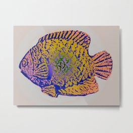 Sunfish Colors 2 Metal Print