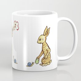 Rabbit & Snail Coffee Mug
